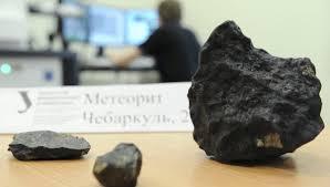 Метеорит из Челябинска теперь в музее!