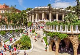 Музеи Испании: парк Гуэль