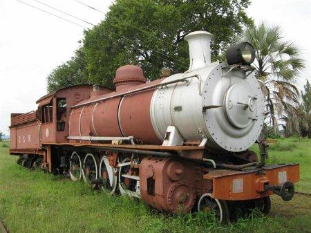 Музей железной дороги в Замбии